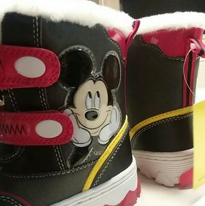 🆕 Disney Mickey Light-up Boots
